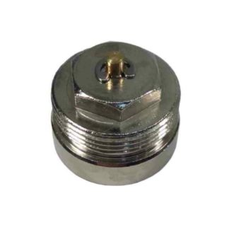 Myson TRV 2-Way Thermostatic Radiator Valve Head 28mm to 30 mm Adapter Front Photo